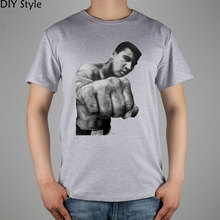 Muhammad Ali The Greatest Boxer Of All Time t-shirt Top Lycra Cotton Men T Shirt New Design High Quality