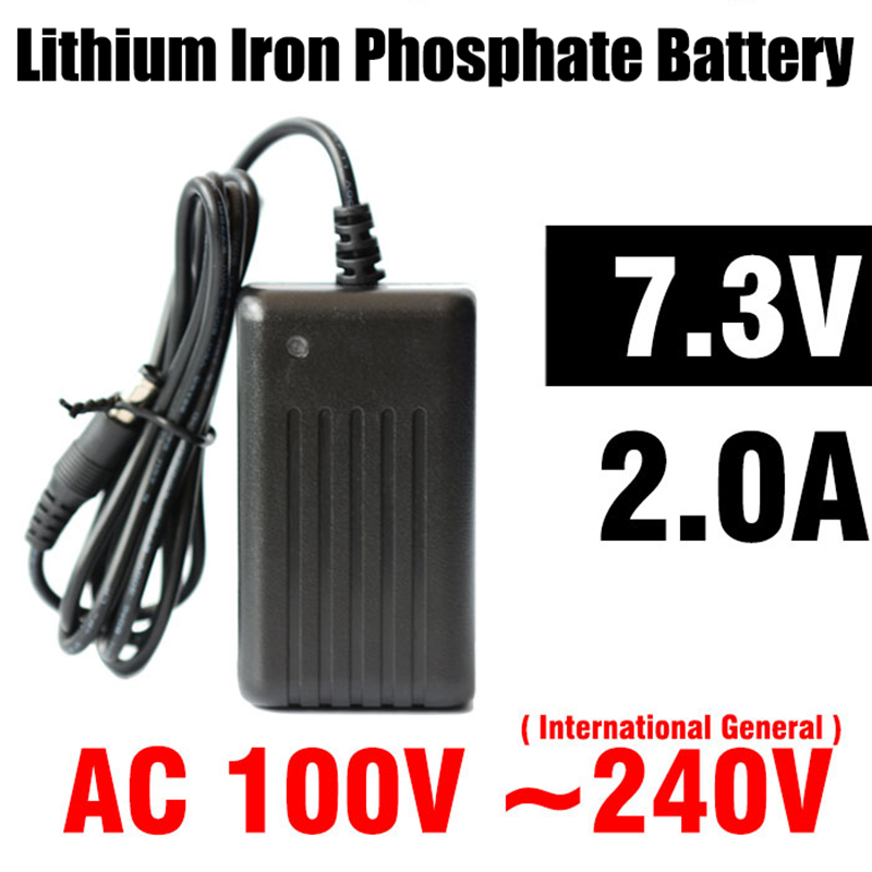 Wholesale 7.3V 2.0A Lithium Iron Phosphate Battery Charger for Camera