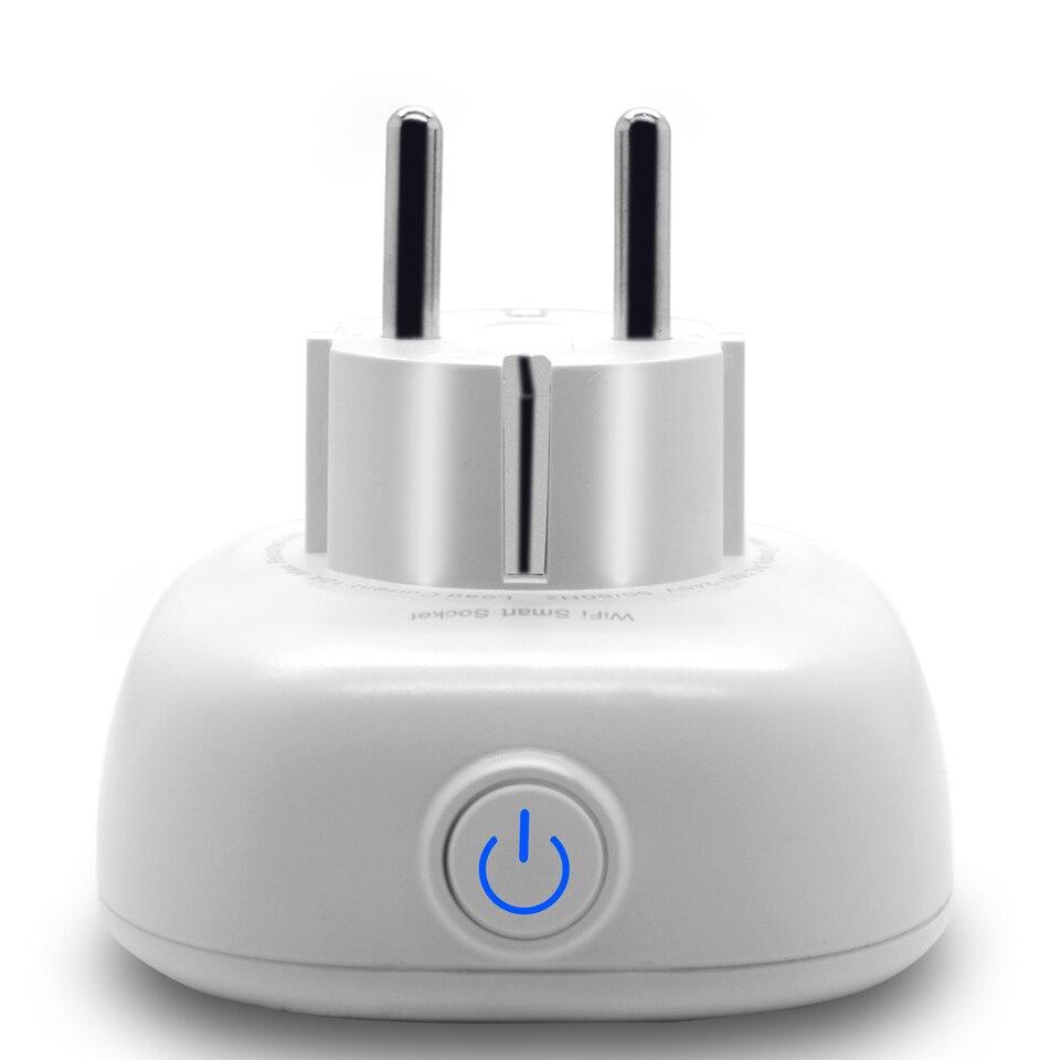 Image 4 - Russian Eu Wifi Plug Adapter Tuya Smart Socket With USB Charging Port Smart Google Home Wireless Remote Control Electric Plug