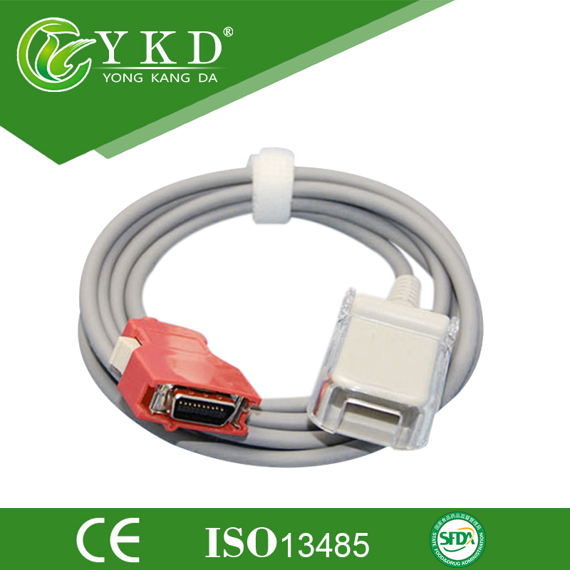 Compatible Masimo Radical 7 pulse oximeter spo2 Extension Cable, 20pins to DB9pins