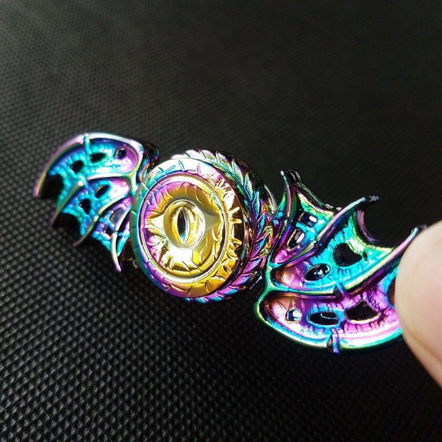 Game of Thrones Dragon Eyes Alloy Fidget Finger Spinner