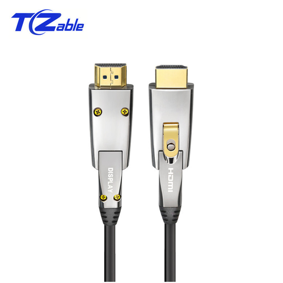 HDMI Cable 2.0 Optical Fiber HDMI 4k 60HZ Cables HDMI Support 3D for HDR TV LCD Laptop PS3 Projector Computer 2Meter-150 Meter