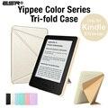 Case para kindle (7th gen) $79 versión 2014 liberado, esr yippee color [ultra delgado] [ligero] de cuero pu cubierta magnética
