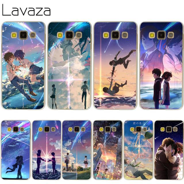 lavaza kimi no na wa your name case for samsung galaxy a3 a5 a7 a8