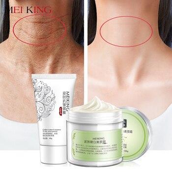 MEIKING Máscara Pescoço Pescoço Creme Skincare Anti rugas Clareamento Hidratante Firmador Nutritivo Cuidados Pescoço Definir Conjunto de Cuidados Da Pele 180g