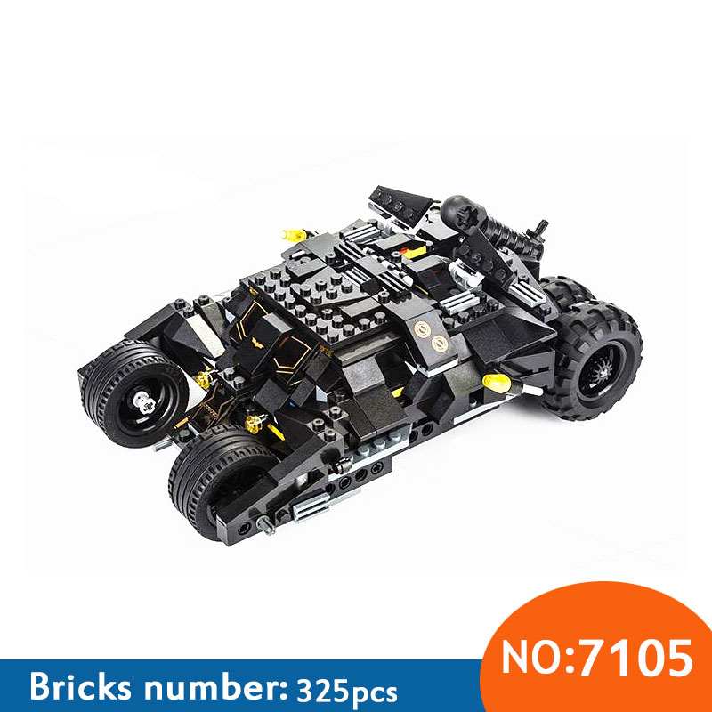 DECOOL 2017 New 7105 Batman The Tumbler Batmobile Batwing Joker Super Heroes Build Blocks Marvel Minis Toy brinquedos  DIY building blocks super heroes batman chariot the tumbler batmobile batwing joker mini bricks 34005 07060 lepintoys