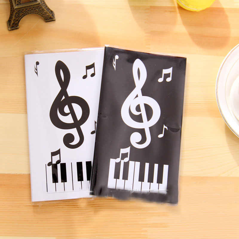 48K Music Cash Book Mini Notepad Soft Copybook Pocket Writing NoteBook Creative Musical Note Memo Portable Hand Book Stationery