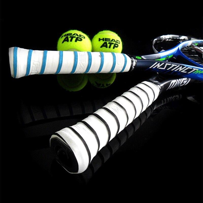 10 PCS/SET Anti Slip Head Overgrip Tennis Grip Racket Padel Accessories Shock Absorber Raquete De Tennis Badminton Training 5