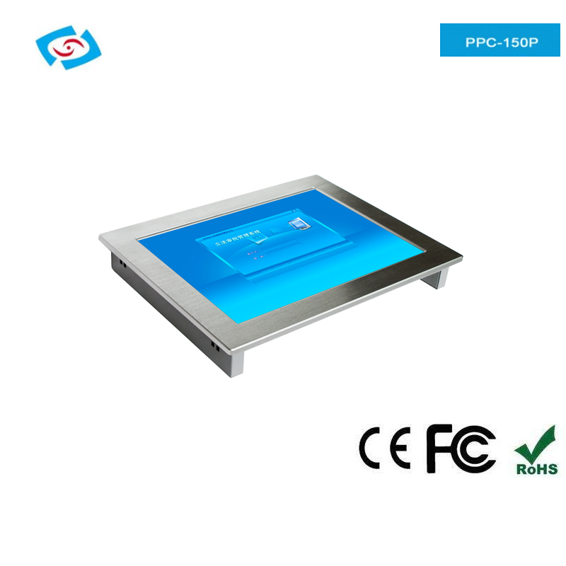 2018 New Arrival 12.1 touch panel PC with 4 x Com and 4 x USB 2.0