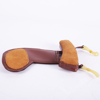 Distinguished Sheep Skin Chin Rest Chinrest Violin Ombro Pad Violin Ombro Musical Violin InstrumeNts Free Professional Pad