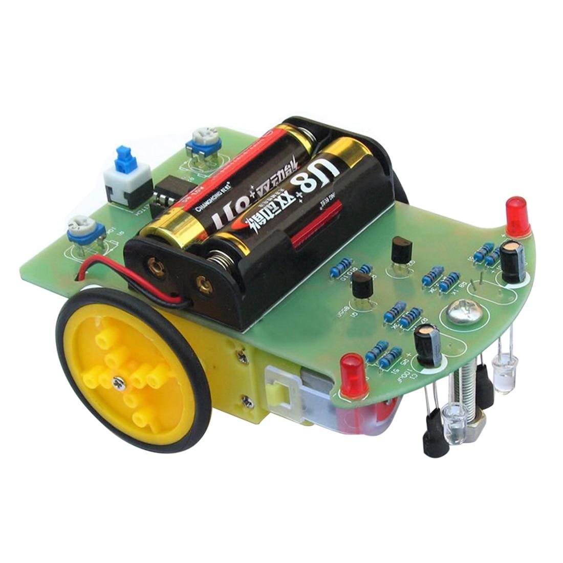 все цены на New Module Smart Tracking Robot Car DIY Kit With Reduction Motor Set For Arduino онлайн