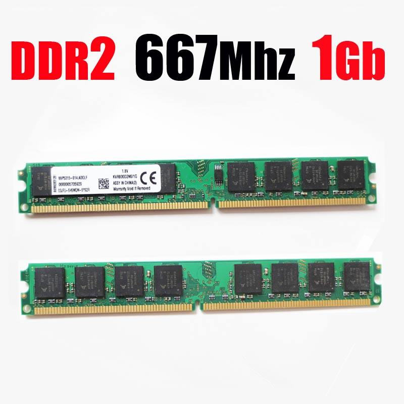 1Gb <font><b>ddr2</b></font> 1Gb PC2-5300 DIMM memory RAM <font><b>DDR2</b></font> <font><b>667</b></font> 1Gb 1 <font><b>Gb</b></font> / ddr <font><b>2</b></font> 667Mhz 1G ( for AMD for all desktop ) -- lifetime warranty image