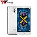 Оригинал Huawei Honor 6X4 Г LTE Мобильный Телефон Hisilicon Кирин 655 Окта Ядро Двойная Камера Заднего Вида 5.5 ''4 ГБ RAM 32 ГБ ROM
