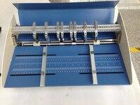 110V o 220V 18 pulgadas 460mm quemador eléctrico perforador 3 en 1 combo papel plegado perforadora 3 funciones máquina|creaser creasing machine|perforation machine|machine machine -