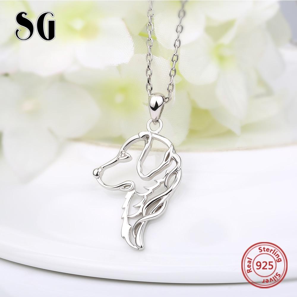 Cadena de joyería de plata de ley 925 Cadena de perro colgante - Joyas - foto 4