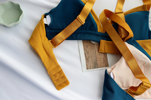 Image 5 - Wriufred חזייה לדחוף את תחתוני כותנה נשים Bralette חוט משלוח נשי חזיית ניגוד הלבשה תחתונה משולש כוס בתוספת גודל חזיות