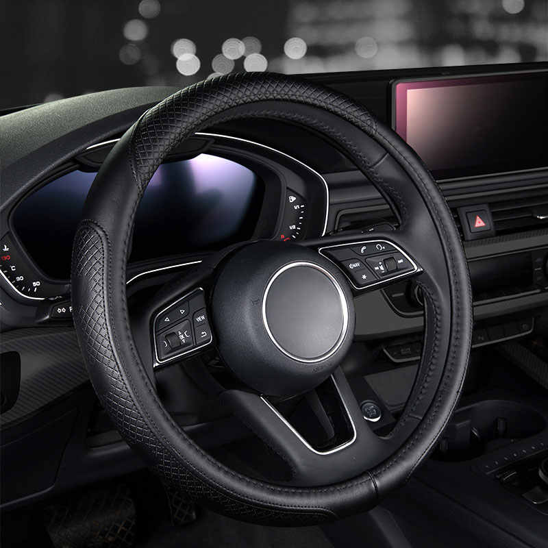 Couvre-volant en cuir de voiture de mode accessoires Auto pour nissan murano qashqai cargo j11 teana j31 j32 tiida versa navara