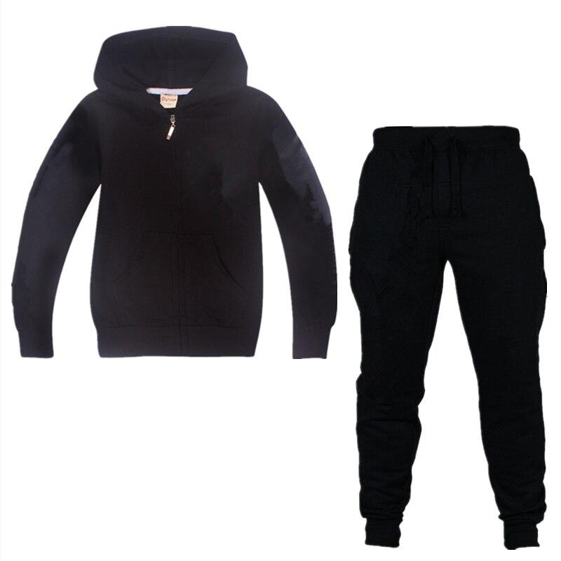 Neue heiße spiele cartoon Ninja Beste Qualität 100% Baumwolle Kleidung Sets 2019 Jungen Mädchen Kostüm Set Kinder zipper Hoodie Jacken mantel