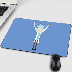 Image 4 - ホット人気漫画マンガアニメリックと Morty クリエイティブおかしいユーモア柄プリントマウス Pc のコンピュータゲームのプレイマット