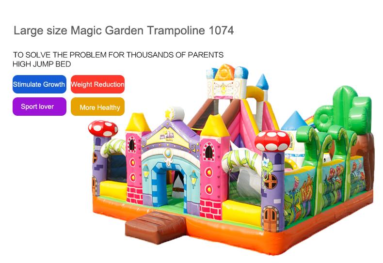 HTB1iDuLbBUSMeJjy1zjq6A0dXXaj - You-Toys Huge Commercial Bouncy Inflatable Castle House Magic Garden Bounce House Kids Playground