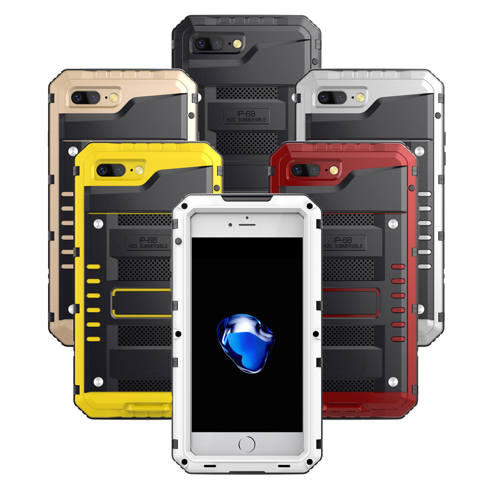 geekoplanet.com - Shockproof/Dustproof/Waterproof Heavy Duty Phone Case for iPhone