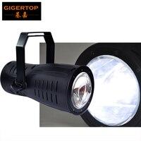 Tiptop stage light 200 Вт теплый белый/холодный белый удара свет DMX, master/slave, самостоятельных и звук активных Гера cw/ww/2in1 Цвет