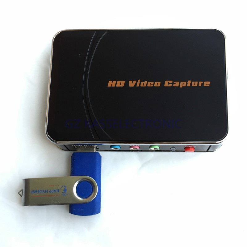 2017 New 1080p Hd Video Game Capture Hdmi Recorder, Convert HDMI, YPbPr Contents To USB Flash Driver  Free Shipping