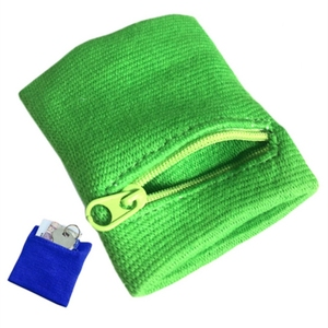 Zipper Wrist Wallet Pouch Runn