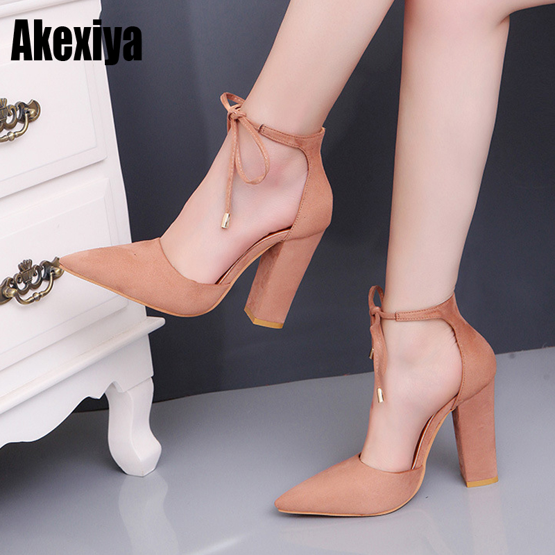 2019 the new Summer Woman Shoes Sandals Lace Up Bow Pumps Pointed Toe Ladies Dress Shoes fashion Sexy Seven colors d9002019 the new Summer Woman Shoes Sandals Lace Up Bow Pumps Pointed Toe Ladies Dress Shoes fashion Sexy Seven colors d900