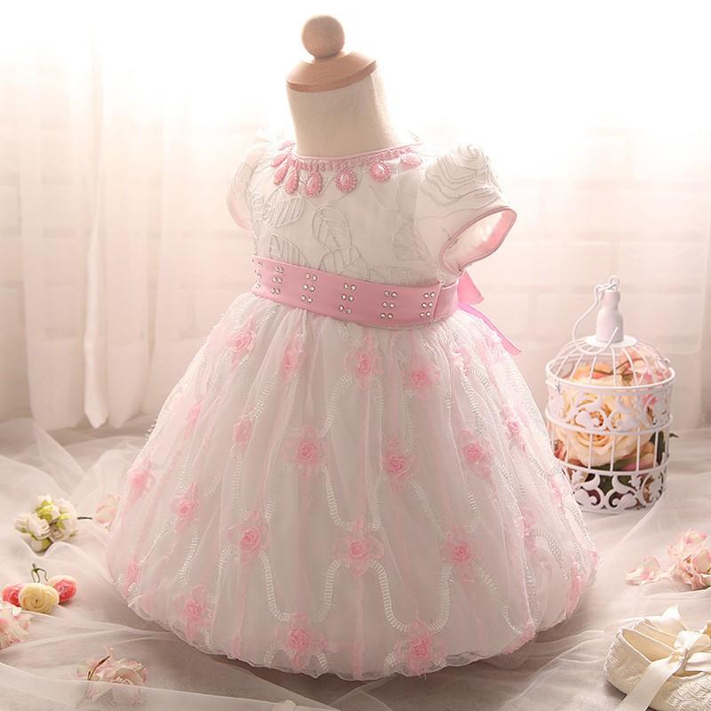 Newborn Birthday Dress (8)
