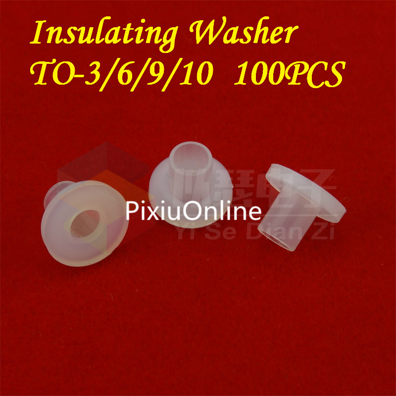 100PCS/LOT YT437B TO-Gasket Insulating Washer Insulation Grain Transistors Gasket Concave and Convex Pad Free Shipping цена
