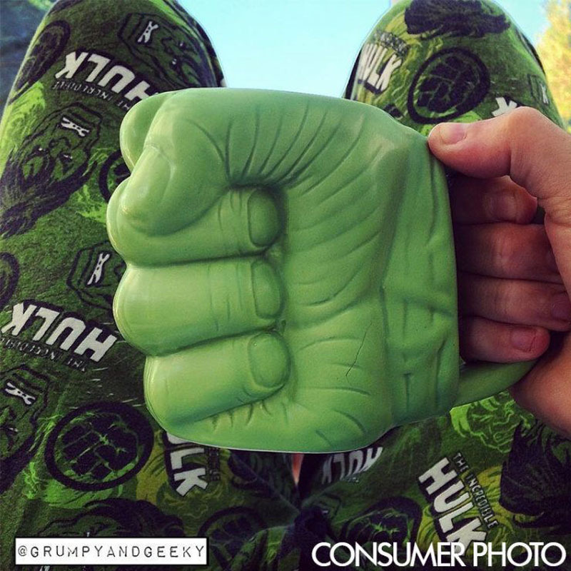 Hulk Ceramic Coffee Mug
