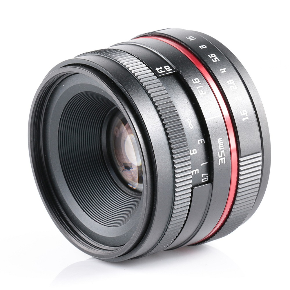 35MM F1.6 small wide angle manual camera lens for Fujifilm FX XT10 XT2 XT1 XA3 XA2 XPRO цены