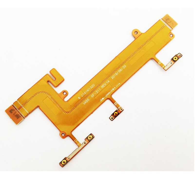 New For <font><b>Nokia</b></font> Lumia <font><b>1320</b></font> Power On/Off Volume Button Flex Cable FPC Replacement <font><b>Parts</b></font> image