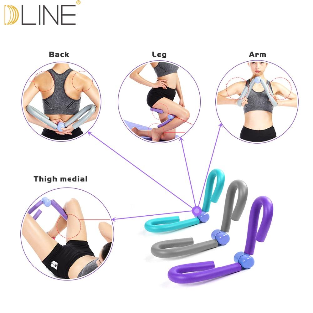 Thigh Master Legs Arms Muscle Fitness Equipments Workout Exerciser Machine Gym Sports Equipment Home Gym Sport Training DropShip in Resistance Bands from Sports Entertainment