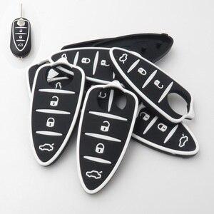 Image 3 - Xinyuexin clé télécommande en Silicone pour voiture, à rabat, pour Alfa Romeo 4C Mito Giulietta mythe 159 GTO GTA