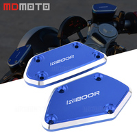 Motorcycle Accessories Front Brake & Clutch Reservoir Fluid Tank Cap Cover For BMW R1200R 2014 2015 2016 2017