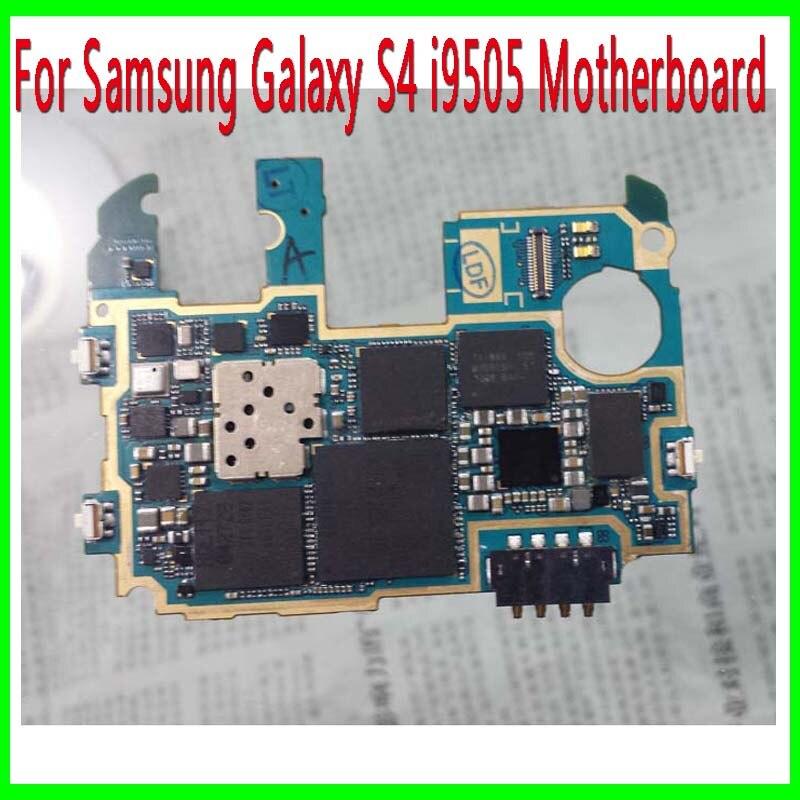 imágenes para Versión europa y Abierto Original para Samsung Galaxy i9505 S4 Placa Base, Placa Base con Patatas Fritas, Buen Envío Libre de Trabajo