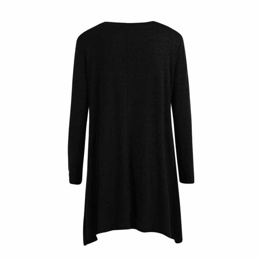 TELOTUNY женская блузка рубашка женская с длинным рукавом кружева подол Материнство туника Топ Блузка Материнство повседневные топы мода новый Dec19