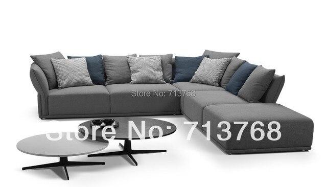 mobilier moderne nouveau modele tissu sofa sectionnel avec tabouret 2ss rhf salon canape