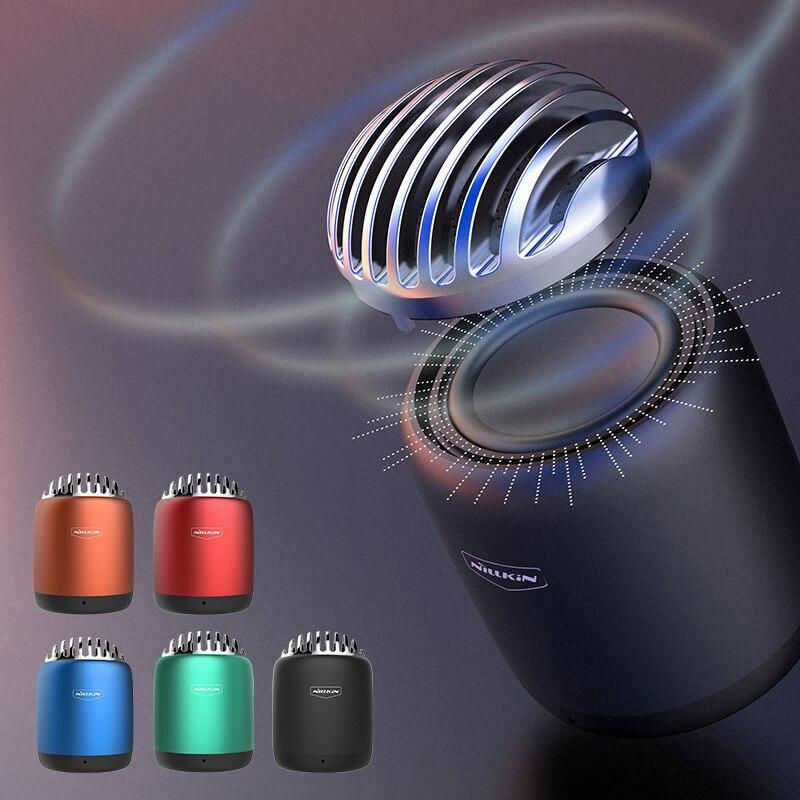 ミニワイヤレス Bluetooth スピーカー NILLKIN BT 4.0 スピーカー音楽スピーカーハイファイポータブル Bluetooth 取るビデオ  グループ上の 家電製品 からの ポータブルスピーカー の中 1