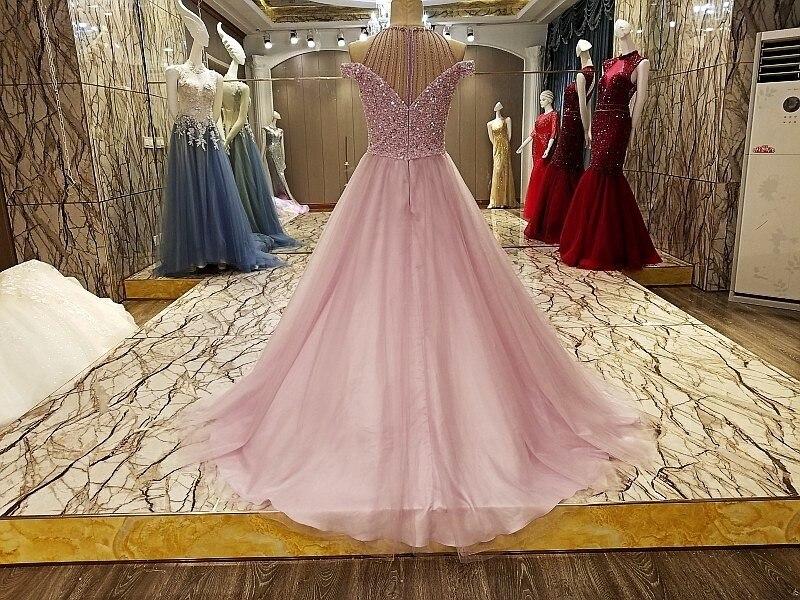Abendkleider Arabic Evening Gowns Dresses Rhinestone Arabic Long ...