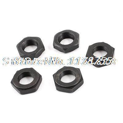 5 Pieces 0.34 Thread Hex Head Nut for Bosch GWS6-100 Angle Grinder 5 pieces 1 4 pt thread diameter brass internal hex head pipe plug