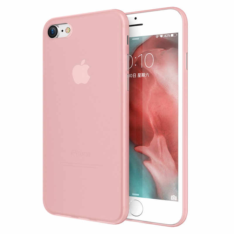 KISSCASE Ultra delgada funda para iPhone 7 6X8 11 Pro Max XR del teléfono de la PC de los casos para iPhone 7 7 6S 6 Plus XR XS Max X Fundas