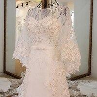 Backlake цены указаны в евро Robe Mariage Vestido De Noiva Винтаж круглым вырезом со шнуровкой сзади линия с куртка кружевное свадебное платье пляжные
