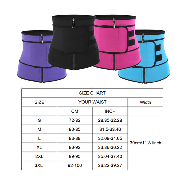 Postpartum Shapewear Body Shaper Neoprene Bandage Sauna Sweat More Waist Trainer for women weight loss corset Belly Band belt 3