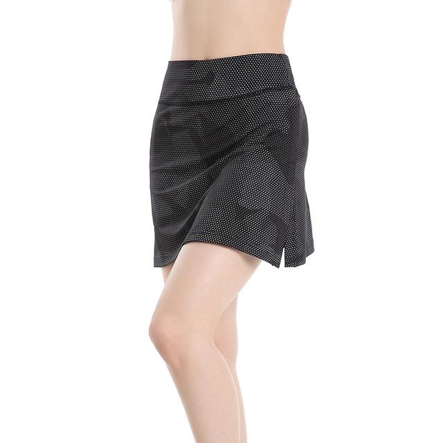 EAST HONG Women's Tennis Golf Running Fitness Short Skirts