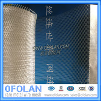 Серебряный Фольга расширена сетка фильтра 10 см х 10 см х 1 шт.