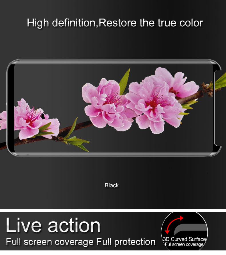 iMAK PRO 3D Full Protector Film For Samsung font b Galaxy b font font b S8