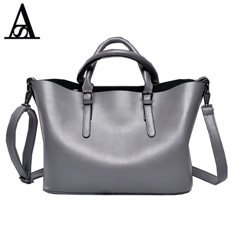 AITESEN Tote Leather Bag Luxury Handbags Women Messenger Bags Designer Sac A Main Mochila Bolsa Feminina Kors Louis Bags 2018 women messenger bags minnie mickey bag leather handbags clutch bag bolsa feminina mochila bolsas female sac a main